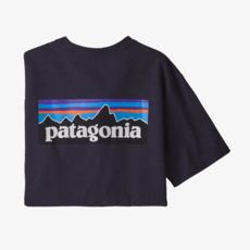 Patagonia Patagonia M's P-6 Logo Responsibili-Tee Piton Purple