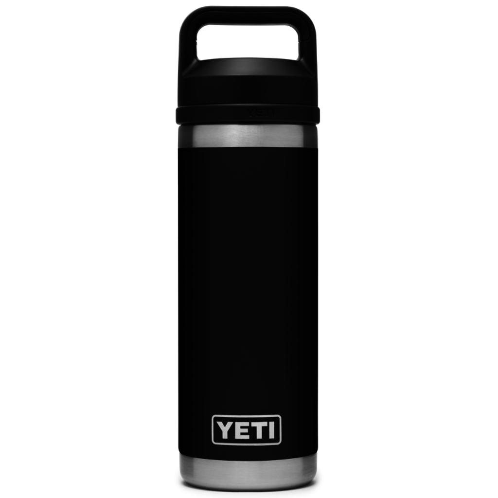 Yeti Rambler Bottle Chug 18oz Black