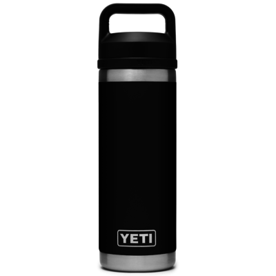 Yeti Rambler Bottle Chug 18oz Black