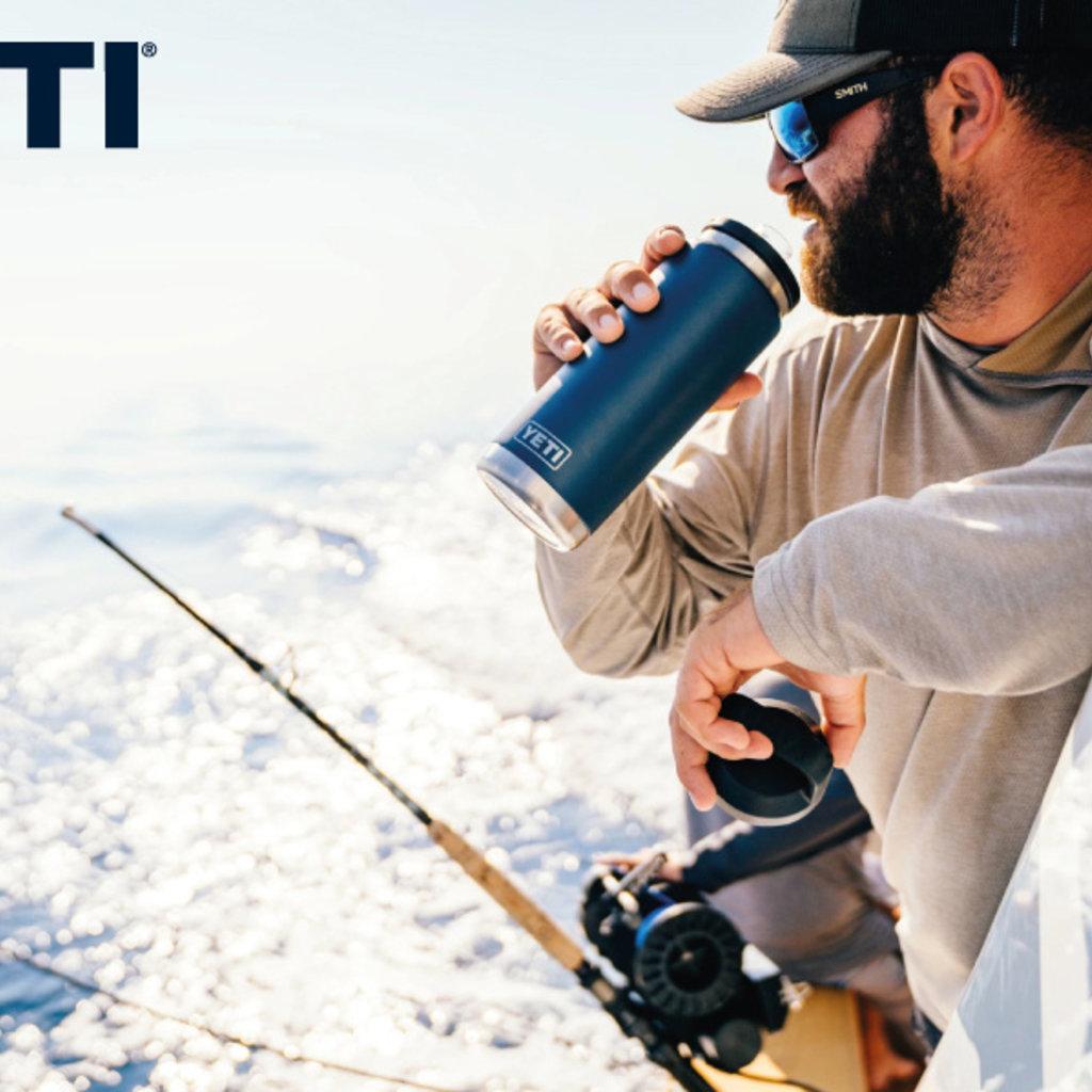 Yeti Yeti Rambler Bottle Chug 18oz Black