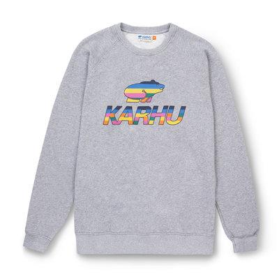 Karhu Karhu Team College Sweatshirt Heather Grey / Multicolour