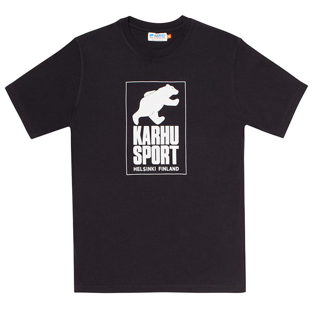 Karhu Karhu Helsinki Sport T-shirt Black/Light Grey