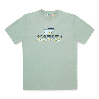 Karhu Karhu Team College T-Shirt Desert Sage / Ensign Blue MC