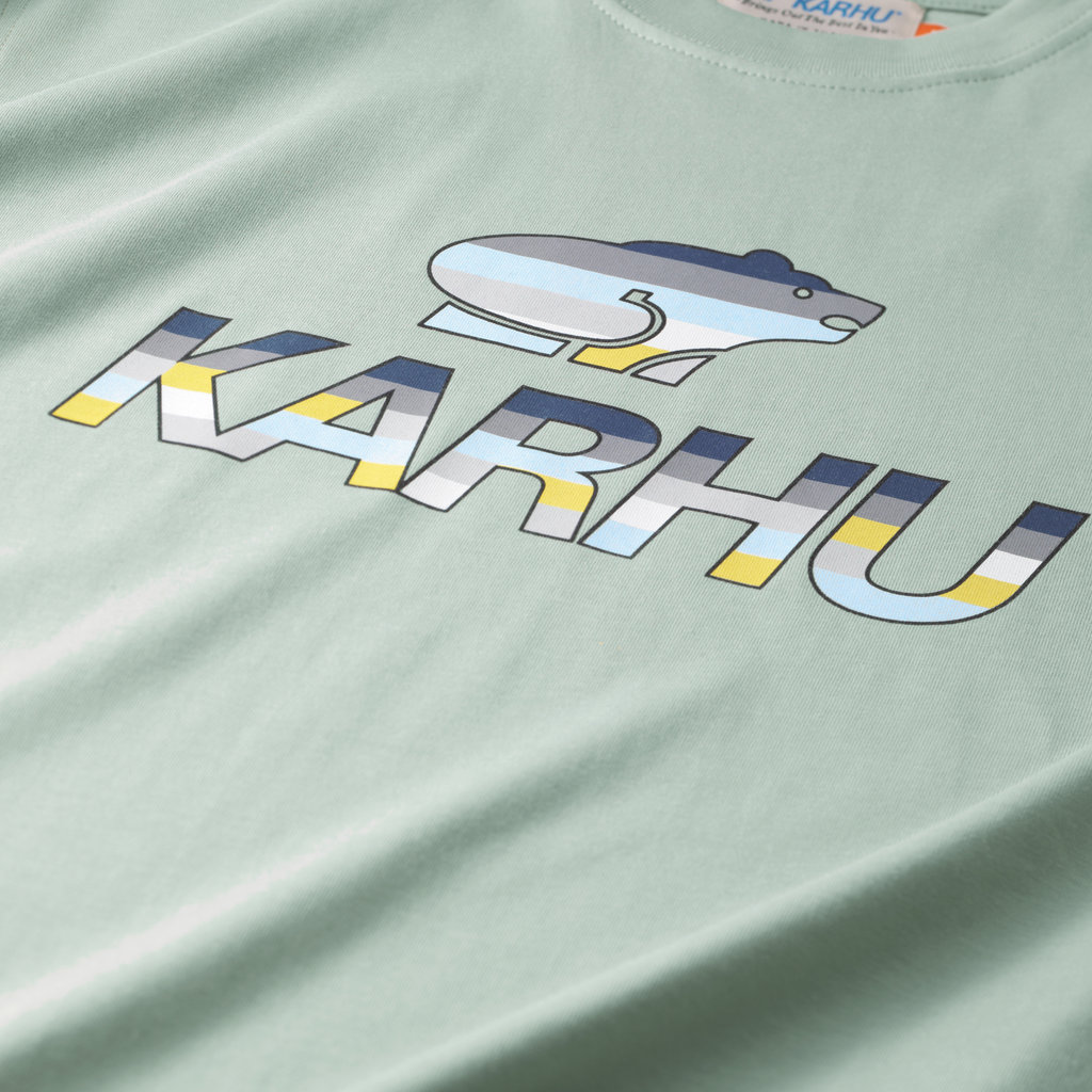 Karhu Karhu Team College T-Shirt Desert Sage / Ensign Blue MC