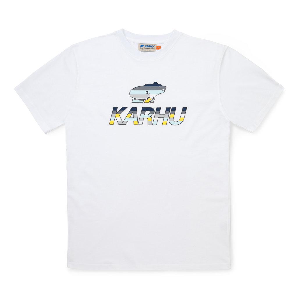 Karhu Karhu Team College T-Shirt White / Ensign Blue MC