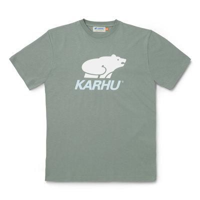 Karhu Karhu Basic Logo T-Shirt Vetiver / White