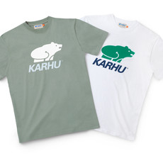 Karhu Karhu Basic Logo T-Shirt White / Ultramarine Green