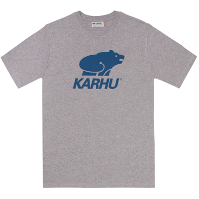 Karhu Karhu Basic Logo T-Shirt Heather Grey / Navy