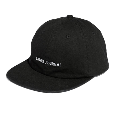 Banks Journal Banks Journal Label Hat Dirty Black