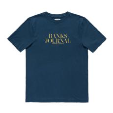 Banks Journal Banks Journal Heading Trader Tee Insignia Blue