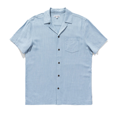 Banks Journal Banks Journal Brighton S/S Shirt Newport Blue