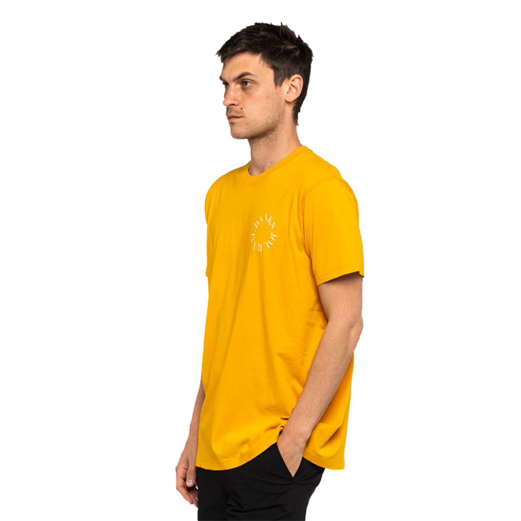 Banks Journal Banks Journal Sphere Classic Tee Saffron