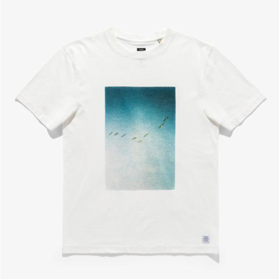 Banks Journal Banks Journal Zak Bush Birds Banks Tee Off White
