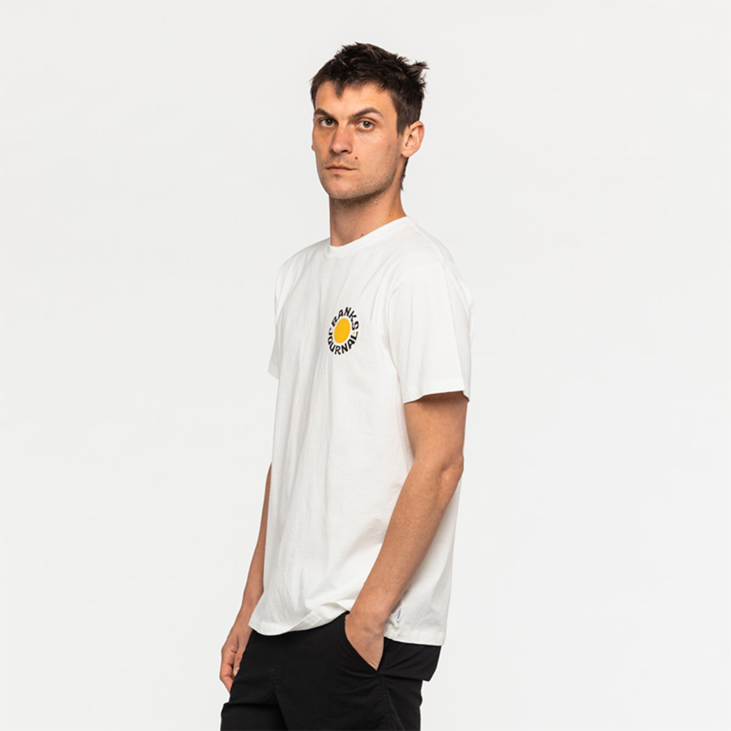 Banks Journal Banks Journal Dime Faded Tee Off White