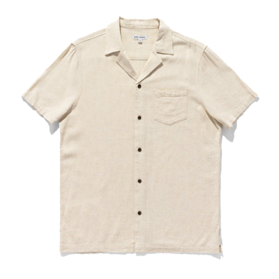 Banks Journal Banks Journal Brighton S/S Shirt Bone