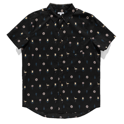Banks Journal Banks Journal Spring S/S Shirt Dirty Black