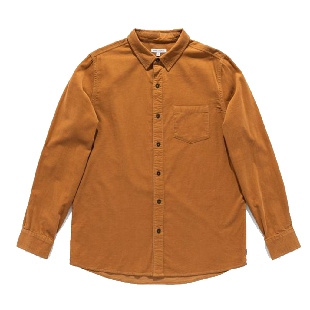 Banks Journal Banks Journal Roy L/S Shirt Toffee