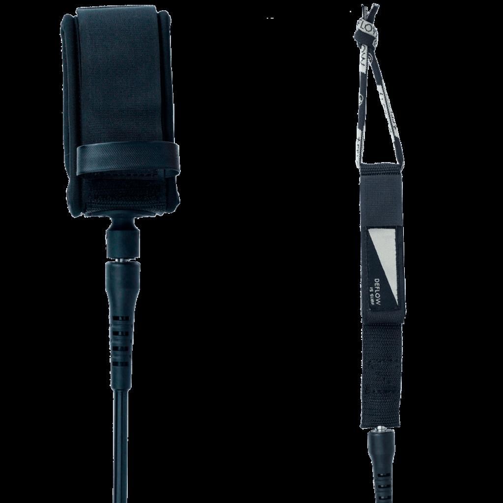 Deflow Deflow 6ft 6mm Comp Leash Black