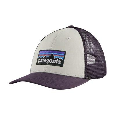 Patagonia Patagonia P-6 Logo LoPro Trucker Hat White / Piton Purple