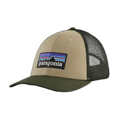 Patagonia Patagonia P-6 Logo LoPro Trucker Hat El Cap Khaki