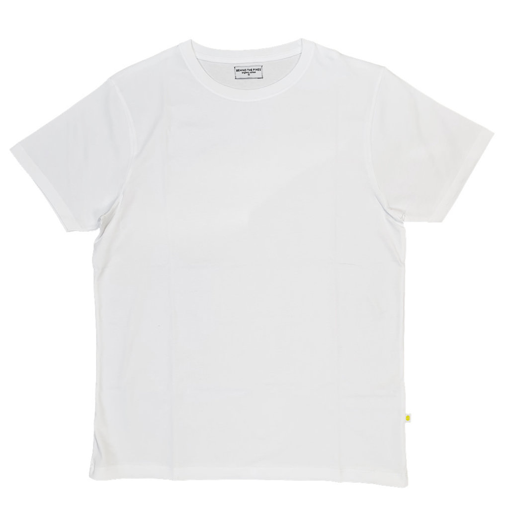 Behind The Pines Behind The Pines Organic Tee White