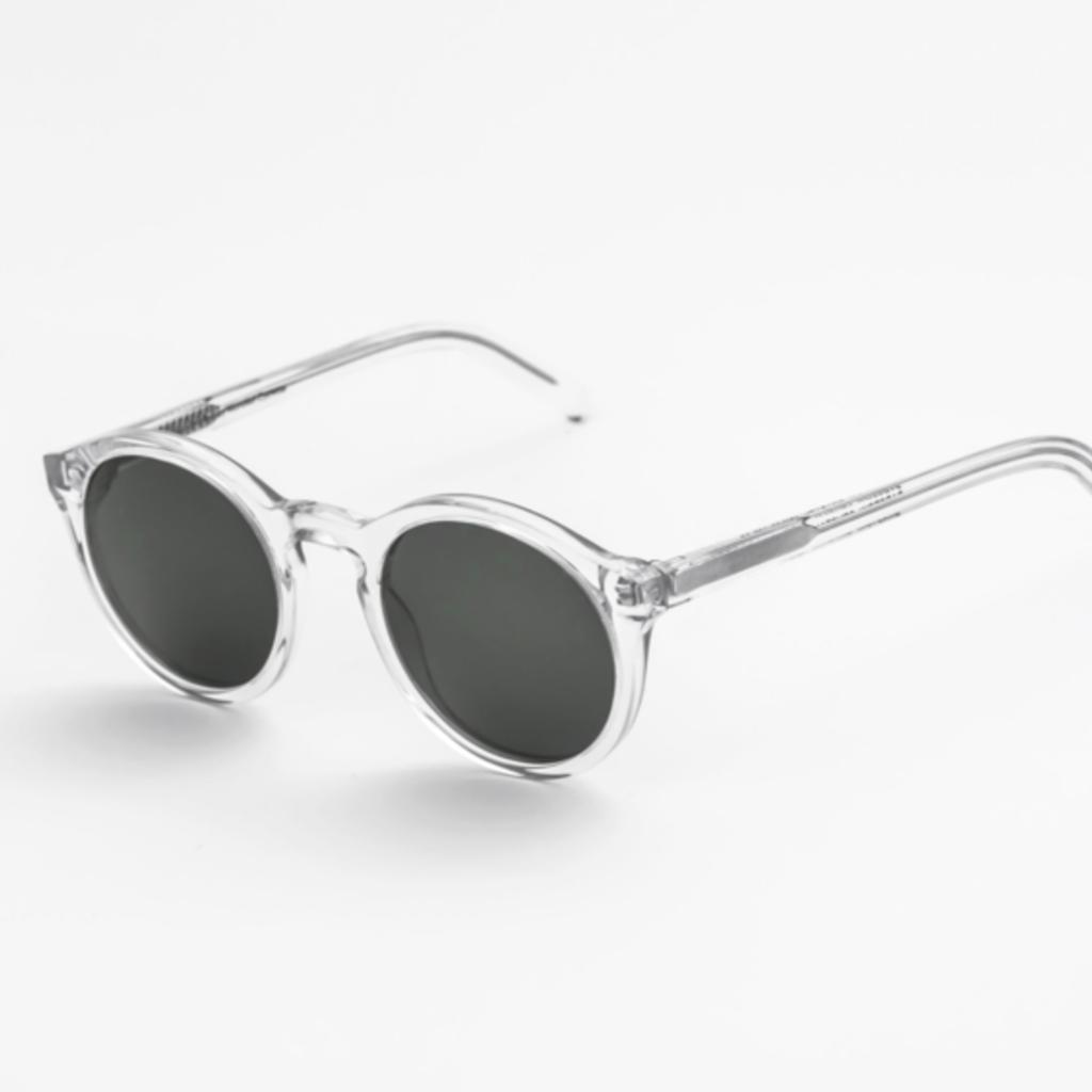 Monokel Monokel Barstow Crystal Solid Grey Lens