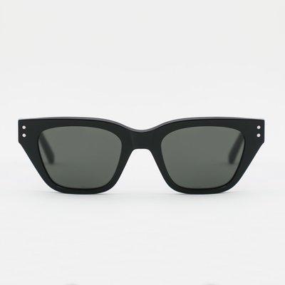 Monokel Monokel Memphis Black Green Solid Lens