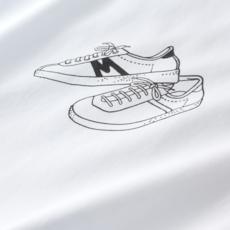 Karhu Karhu Trampas Sneakers T-Shirt White / Black