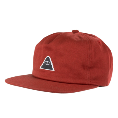 Poler Poler Cyclops Patch Hat Maroon