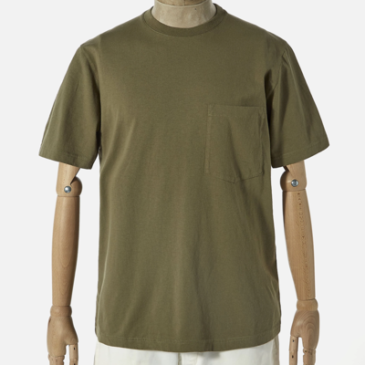 Universal Works Universal Works Big Pocket Tee Bright Olive