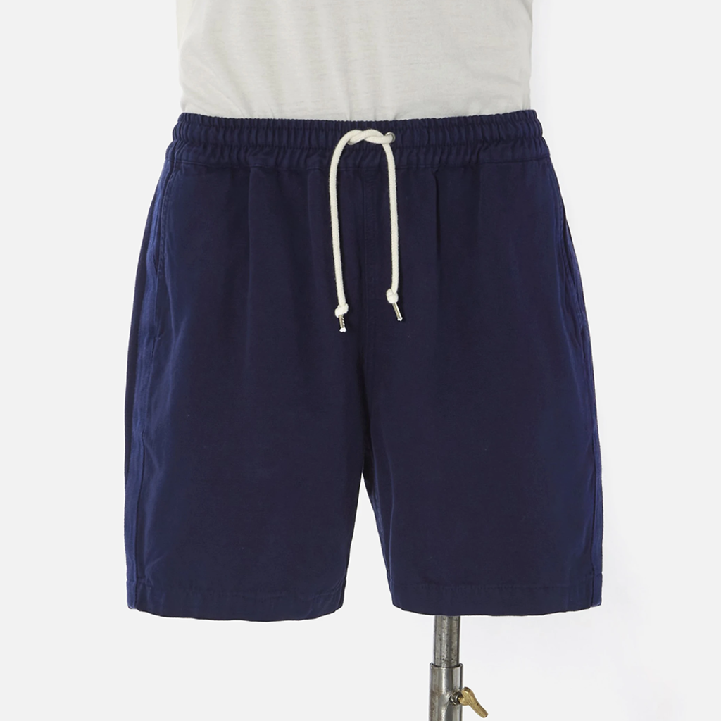 Universal Works Universal Works Canvas Beach Short Navy