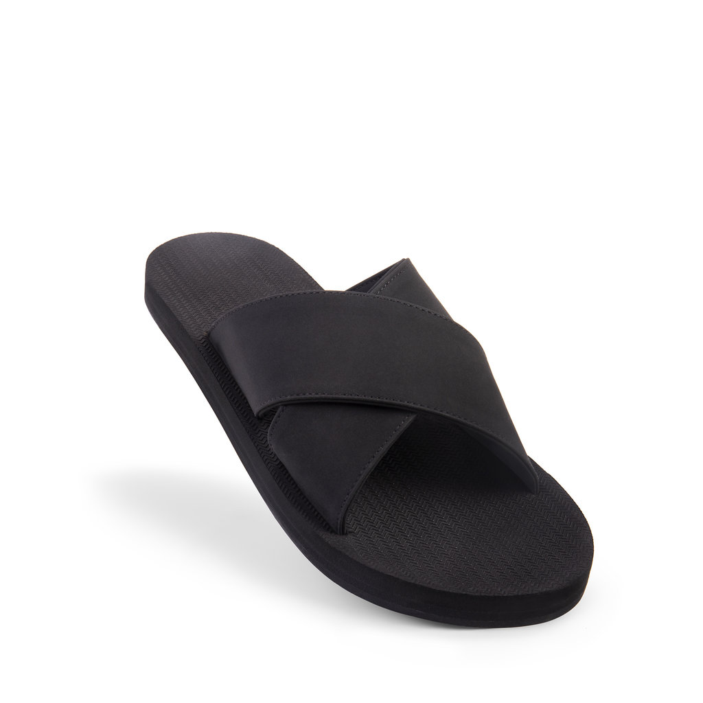 Indosole Indosole Men's ESSNTLS Cross Black