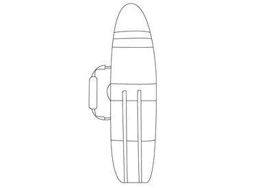 Surfboard tassen