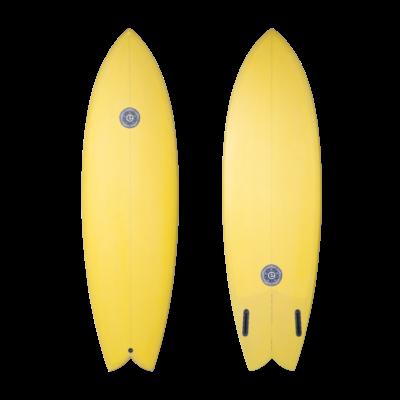 Elemnt Surfboards Elemnt Surfboards Twin Fish Mustard Futures 5´10