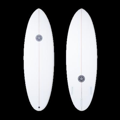 Elemnt Surfboards Elemnt Surfboards Scrambled Egg Clear Futures 6´6