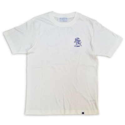 Behind The Pines Behind the Pines x Sjefietshe Organic Tee Off White