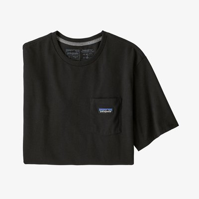 Patagonia Patagonia P-6 Label Pocket Responsibili-Tee Black