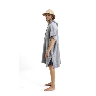 KnowledgeCotton Apparel KnowledgeCotton Apparel Surf Hoodie Towel Total Eclips