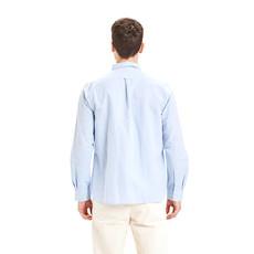 KnowledgeCotton Apparel KnowledgeCotton Apparel Larch Linen Shirt Skyway