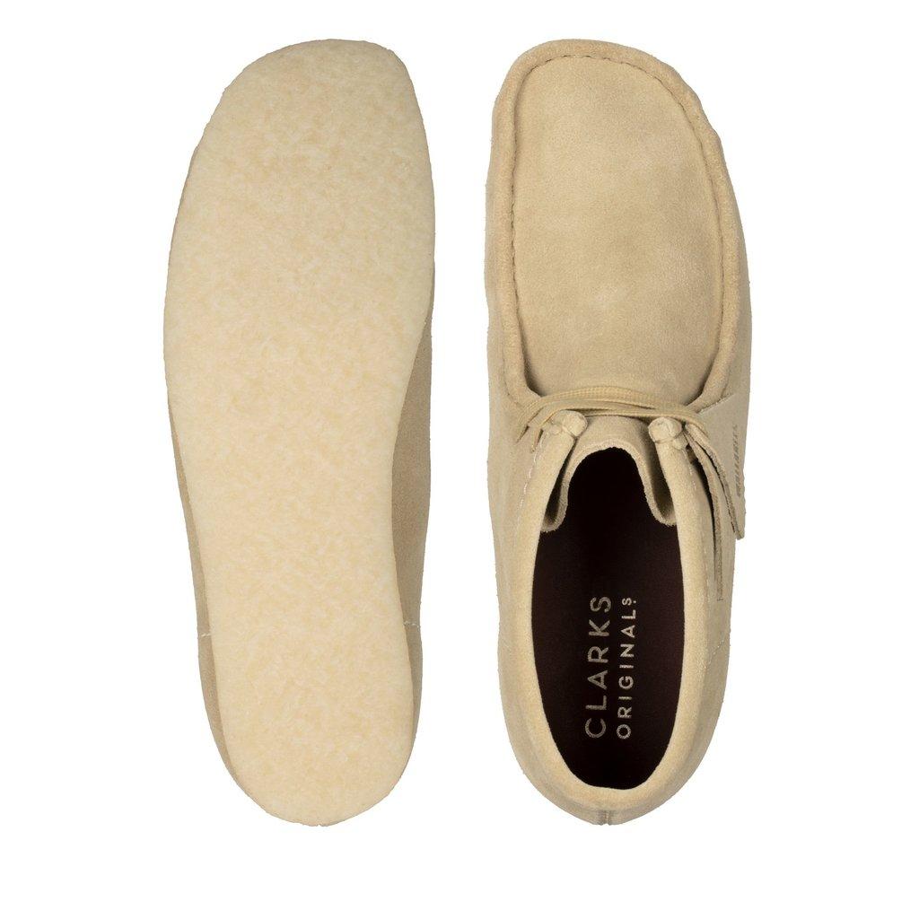 Clarks Originals Clarks Originals Wallabee Boot Maple Suede