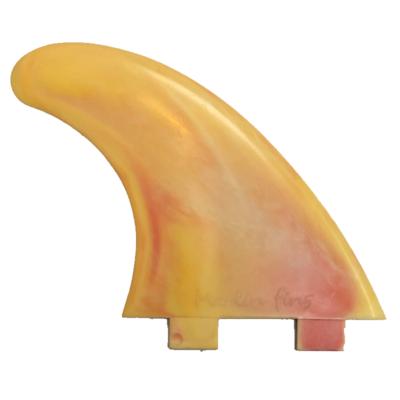 Marlin Fins Marlin Fins Recycled Quad Fin Set FCS1 Peach