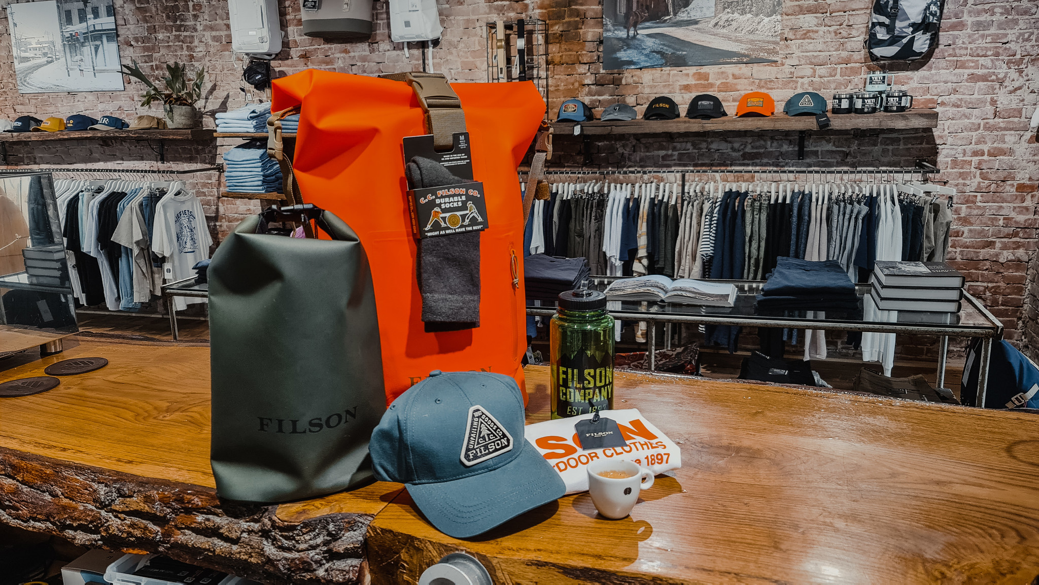 Filson Outdoor Pack Giveaway