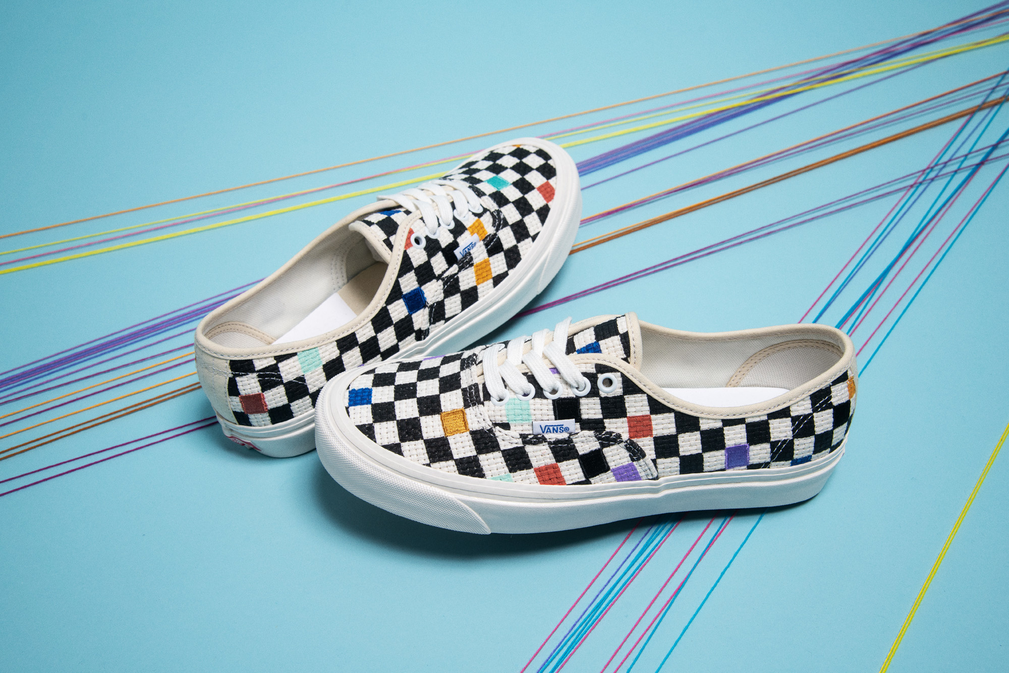 Vans Anaheim Factory Needlepoint Collection