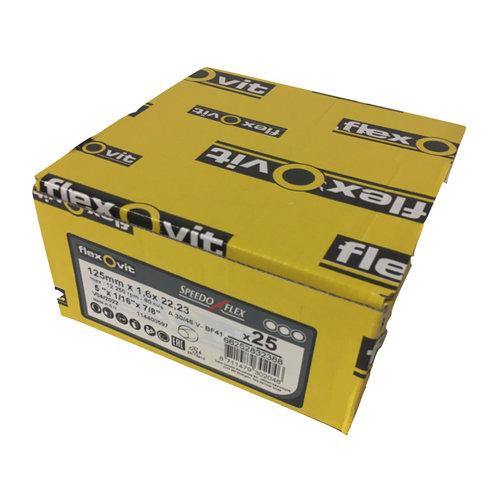Flexovit Flexovit doorslijpschijf voor staal en RVS 125x1,6x22 mm (verpakkings eenheid 25 stuks)
