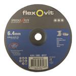 Flexovit 230x6,4x22 A24/30 Q-BF27 flexovit afbraamschijven voor staal en RVS, type speedoflex  (verpakkingseenheid 10 stuks) - Copy
