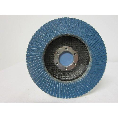 Sait Vlak- lamellenschijf 115 mm, K.80, Nr.S7002 verpakt per 10 stuks