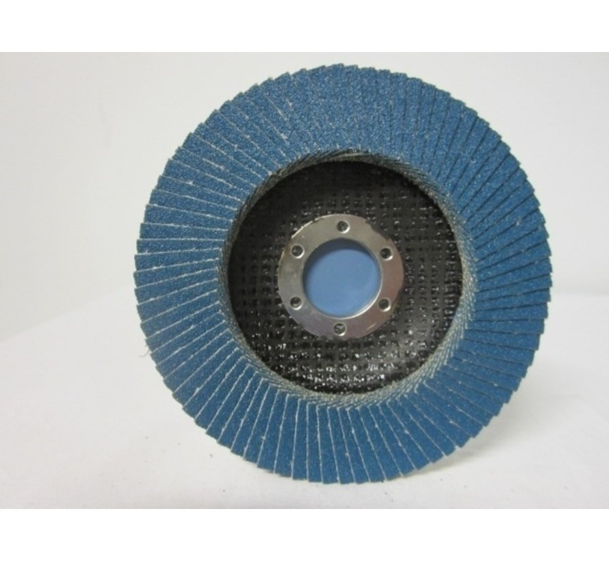 Vlak- lamellenschijf 115 mm, K.80, Nr.S7002 verpakt per 10 stuks