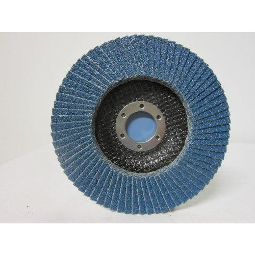 Sait Vlak- lamellenschijf 125 mm, K.40, Nr.S8620 verpakt per 10 stuks