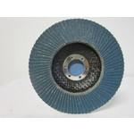 Sait Vlak- lamellenschijf 125 mm, K.80, Nr.S8616 verpakt per 10 stuks