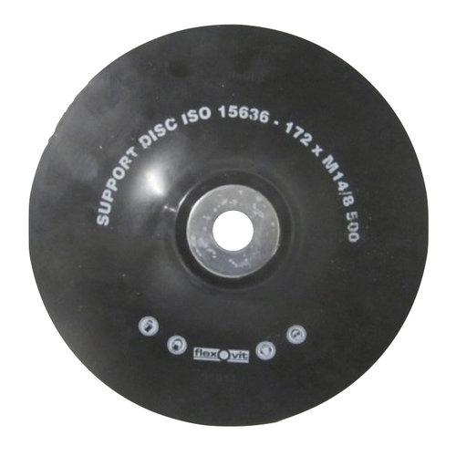 Saint gobain Onderlegschijf 178 mm met moer M14, art.2657